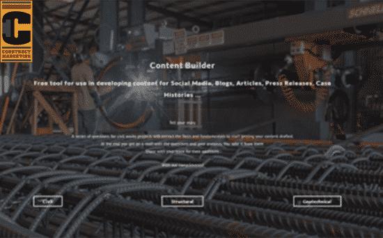 Construct Content Builder